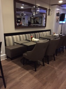 Custom Banquette for North Ranch Country Club